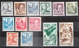 WURTTEMBERG - Petite Collection De Timbres - TOP AFFAIRE - Zone Française