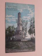Monument De TACAMBARO / Denkmaal () Anno 1924 ( Zie / See / Voir Photo ) ! - Leopoldsburg (Camp De Beverloo)