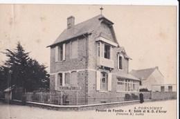 Carte 1920 PORNICHET /PENSON DE FAMILLE  K/ SABLE ET N-D D'ARVOR - Pornichet