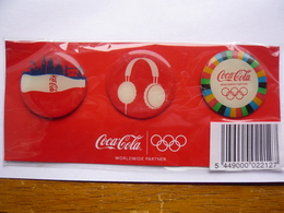 3 Pin S COCA COLA  Sous Blister Neuf 2 Photos - Coca-Cola