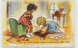 4600  -  CPA  De  GERMAINE BOURET -  LES COUTURIERES .....   -  M.D Paris - Circulée En 1953 - Bouret, Germaine