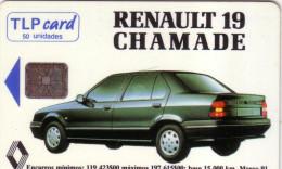 PORTUGAL PRIVEE CHAMADE RENAULT 19 SC6 50U UT - Portugal