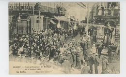 ELBEUF - Festival Concours De Musique Du 11 Juillet 1909 - Le Défilé - Elbeuf