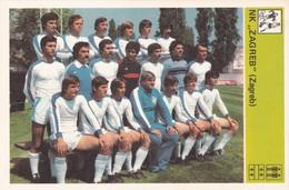 NK ZAGREB CARD-SVIJET SPORTA (B277) - Soccer