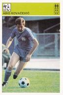 ABID KOVACEVIC CARD-SVIJET SPORTA (B285) - Soccer