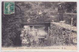 85   St Hilaire Des Loges    MERVENT    Le Pont Du Moulin    *Belle CPA En TBE - Saint Hilaire Des Loges