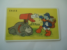 UNITED  STATES CARDS  MINT DISNEY Donald Duck - Disney