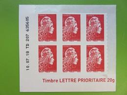Timbre France - Coin Daté - Marianne D'Yseult Digan - L'engagée - Autocollant - LP - Neuf - 2018 - YT N° 1599 - Coins Datés