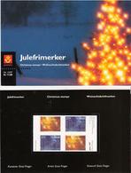 Norway 1997 Christmas, Medieval Calendar Bars  Mi  1265-1266 X 2 In Folder - Lettres & Documents