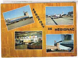 Aerodromes  Aeroports  MERIGNAC  BORDEAUX - Aérodromes