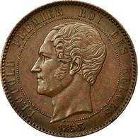 Monnaie, Belgique, 10 Centimes, 1853, TTB+, Cuivre, KM:1.1 - 1831-1865: Léopold I