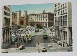 GENOVA - Piazza Dante - Corriera / Tram / Bus / Autobus - Auto - Genova