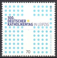 Bund MiNr. 3239 ** 100. Deutscher Katholikentag, Leipzig - Nuovi