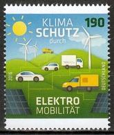 Bund MiNr. 3265 ** Klimaschutz Durch Elektromobilität - BRD