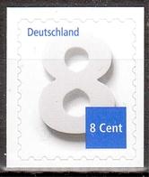 Bund MiNr. 3196 ** Freimarke: Ziffernzeichnung - Nuovi