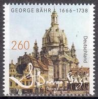 Bund MiNr. 3219 ** 350. Geburtstag Von George Bähr - BRD