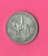 1 One Dollar 1973 Canada Giubbe Rosse Mountie - Canada