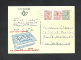 PUBLIBEL N° 2743 F  - RIZLA +  - 6F50  (624) - Publibels