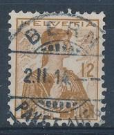 """HELVETIA - Mi Nr 115 - Cachet """"BERN - PAKETAUFG."""" - (ref. 683) - Schweiz"""