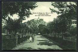 Rocca Di Papa - Panorama Visto Dal Viale Delle Funicolare - Viaggiata In Busta 1932 - Rif. 03261 - Altre Città