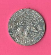 1 One Dollaro 1980 Canada Orso Nero Canadese Territori Canadesi - Canada