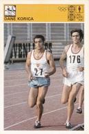 DANE KORICA CARD-SVIJET SPORTA (B322) - Athletics