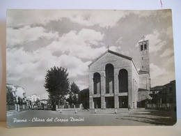 1962 - Parma - Chiesa Del Corpus Domini - Chiese E Conventi