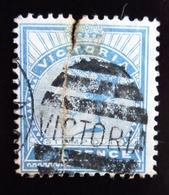 Australie Victoria  N° ?? .Queen Victoria  .Oblitéré Attention Abimée Réparé En L'état - Oblitérés