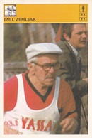 EMIL ZEMLJAK CARD-SVIJET SPORTA (B334) - Atletica