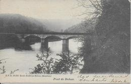 DOHAN ..-- DVD 10091 . Le Pont De DOHAN . 1908? Vers ANVERS ( Mr DELVAUX , Avocat ) . Voir Verso . - Bouillon