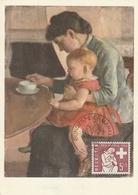Carte Maximum - Mère Et Enfant - Ferdinand Hodler 1853 - 1918 - Switzerland