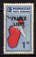 MADAGASCAR - A45* - CARTE / FRANCE LIBRE - Madagascar (1889-1960)