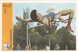 VASO KOMNENIC CARD-SVIJET SPORTA (B340) - Athletics