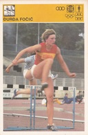 DURDA FOCIC CARD-SVIJET SPORTA (B344) - Atletica