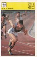 ROK KOPITAR CARD-SVIJET SPORTA (B349) - Athletics