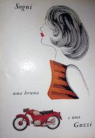 GUZZI 1957 PUBBLICITA' ORIGINALE DA RIVISTA D'EPOCA VINTAGE - Pubblicitari