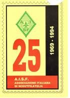 ASSOCIAZIONE ITALIANA DI SCOUT  FILATELIA  - ANNULLO FILATELICO - 20-11-94 - Scoutismo