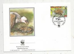 Lettre , 1 Er Jour,official First Day Cover , WWF , Tonga ,Niuafo'ou , 1992 ,  Niuafo'ou Megapode - Tonga (1970-...)