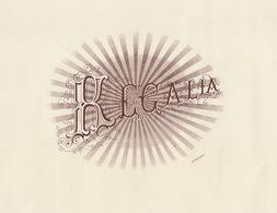1893-1894 Grande étiquette Boite à Cigare Havane REGALIA - Etiquettes