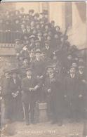 Carte-Photo 1912 Grève Des Tailleurs - Profesiones