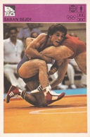 SABAN SEJDI CARD-SVIJET SPORTA (B380) - Wrestling