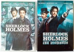 DVD Sherlock Holmes 1 Et 2 Jeu D'ombres Jude Law Robert Downey Jr Rachel McAdams Mark Strong - Action, Aventure