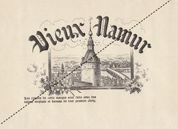 1893-1894 Grande étiquette Boite à Cigare Havane VIEUX NAMUR DE CLERCK SALIEN - Etiquettes