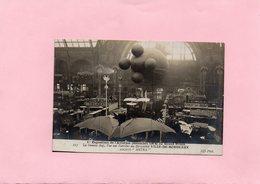 F1101 - Exposition De L'Aviation (Décembre 1908) Au Grand Palais - La Grande Nef Vue Sur L'arrière Du Dirigeable - Avions