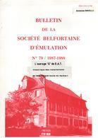 OUVRAGE G DE D.A.T. HISTORIQUE INSTALLATIONS DEFENSE AERIENNE DU SALBERT BELFORT FORTIFICATION FORT - Livres
