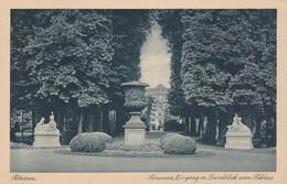Potsdam Sanssouci Eingang Durchblick Zum Schloss - Potsdam