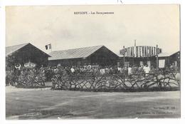 Cpa: 55 REVIGNY SUR ORNAIN (ar. Bar Le Duc)  Les Baraquements - Hopital D'Evacuation (Militaire) 1916 - Health