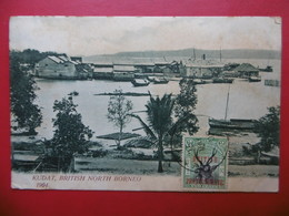 BRITISH NORTH BORNEO KUDAT TIMBRE BRITISH PROTECTORATE 1904 - Malaysia
