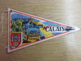 Fanion Plastifié   CALAIS - Ecussons Tissu