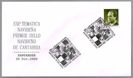 EXP. TEMATICA NAVIDEÑA - AJEDREZ - Santander, Cantabria, 2000 - Ajedrez